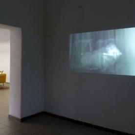 """Odem"" Videoloop von Juliane Schmidt"