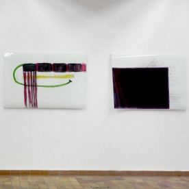 """""""Der Letzte wird der Erste sein"""" (links), """"o.T."""" Fotoprints von Henrike Pilz"""