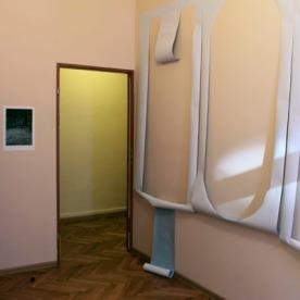 """""""Home"""" Papierarbeit von Charlotte Perrin (rechts)"""
